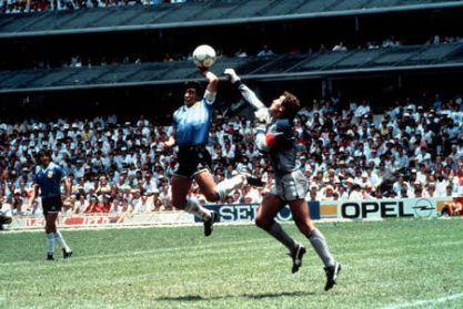 Maradona Gol Mano de Dios Inglaterra