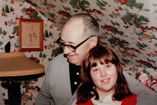 Opa and Becke, Christmas Eve 1982
