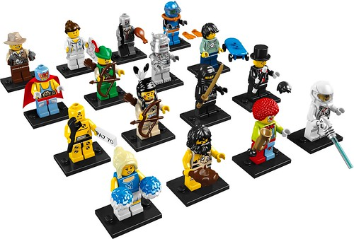 8683: Collectable minifigures