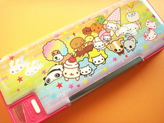 Kawaii Cute San-x Characters Pencil Case Stationery Japan Rare (Kawaii Japan) Tags: pink red orange dog cute smile smiling animals japan shop pencil cat shopping asian happy japanese nice panda pretty box adorable case goods collection plastic lindo kawaii fancy characters lovely cuteness stationery rare collectibles magnetic pvc pencilcase stationary tarepanda afroken raro niedlich  kogepan gentil sanx nyanko papeterie atraente papelaria stationaries mikanbouya grazioso schreibwaren japanesestore selten twinangels  cawaii japaneseshop stationeries nyannyannyanko buruburudog kawaiishopping kawaiijapan shiawasenyanko nijinomukou kawaiistore kawaiishop chiwawanko kawaiishopjapan kawaiijapanese kawaiijapanesestore articolidicancelleria