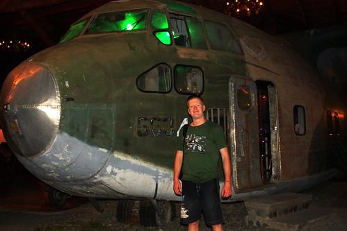 Plane from Iran Contra controversy