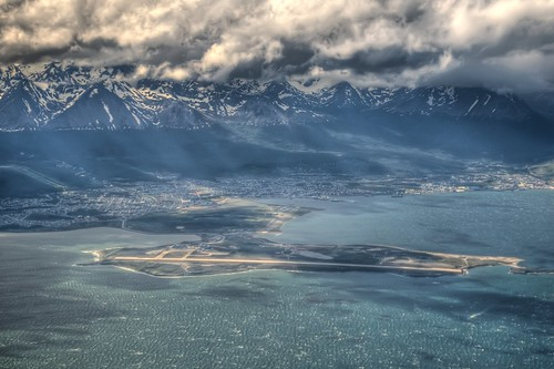 Ushuaia from the Air