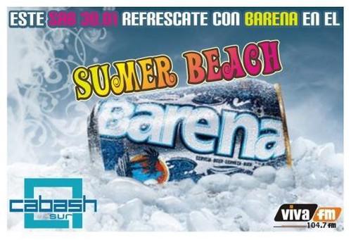 Summer Beach Barena - Discoteca Cabash Sur