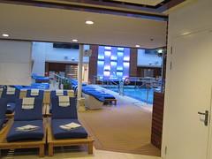 Celebrity Solstice Indoor pool area