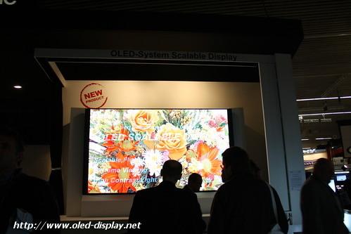 Mitsubishi 149 inch OLED ISE-2010