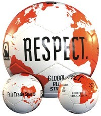 soccer. Vegan, FTF-certified Fair Trade Sports balls are made from ...