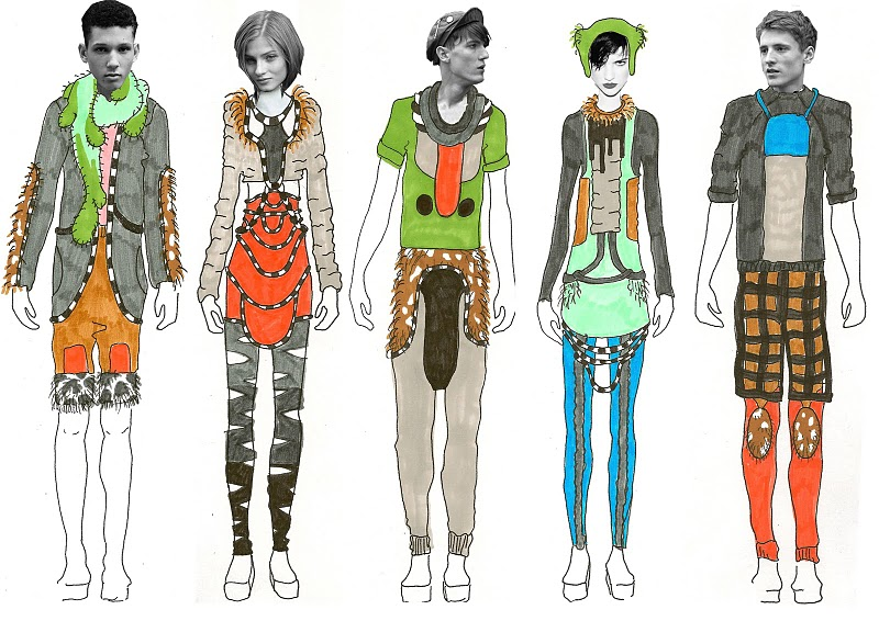 The Fashion Totem illustration 3