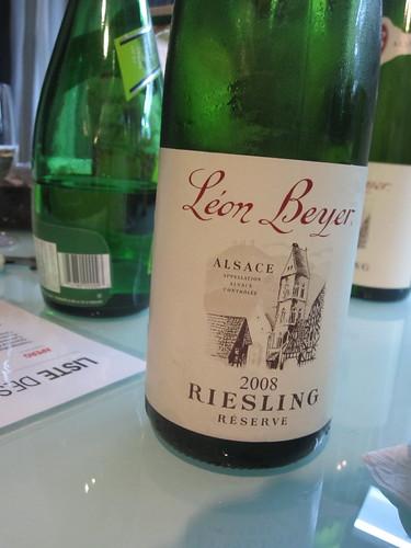 Léon Beyer Riesling réserve 2008