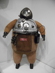 Steampunk Diving Suit (Brownie Bear) Tags: street city uk england history museum britain centre united great kingdom diving science suit oxford gb broad steampunk