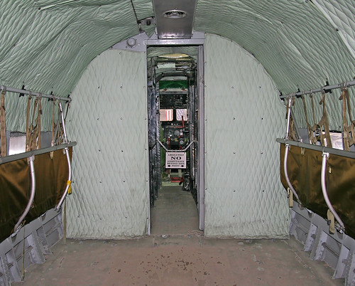 Douglas C-47B Skytrain (44-76457) Cabin Fwd Bulkhead