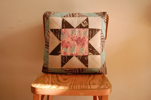 Karyn's Sawtooth Star Pillow