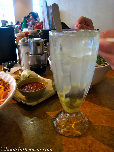salted lemon drink: Chanh muối