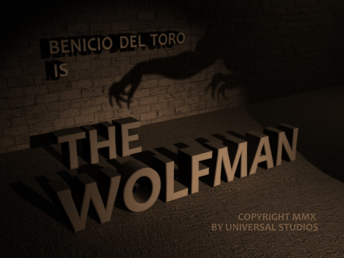 The Wolfman Title Card