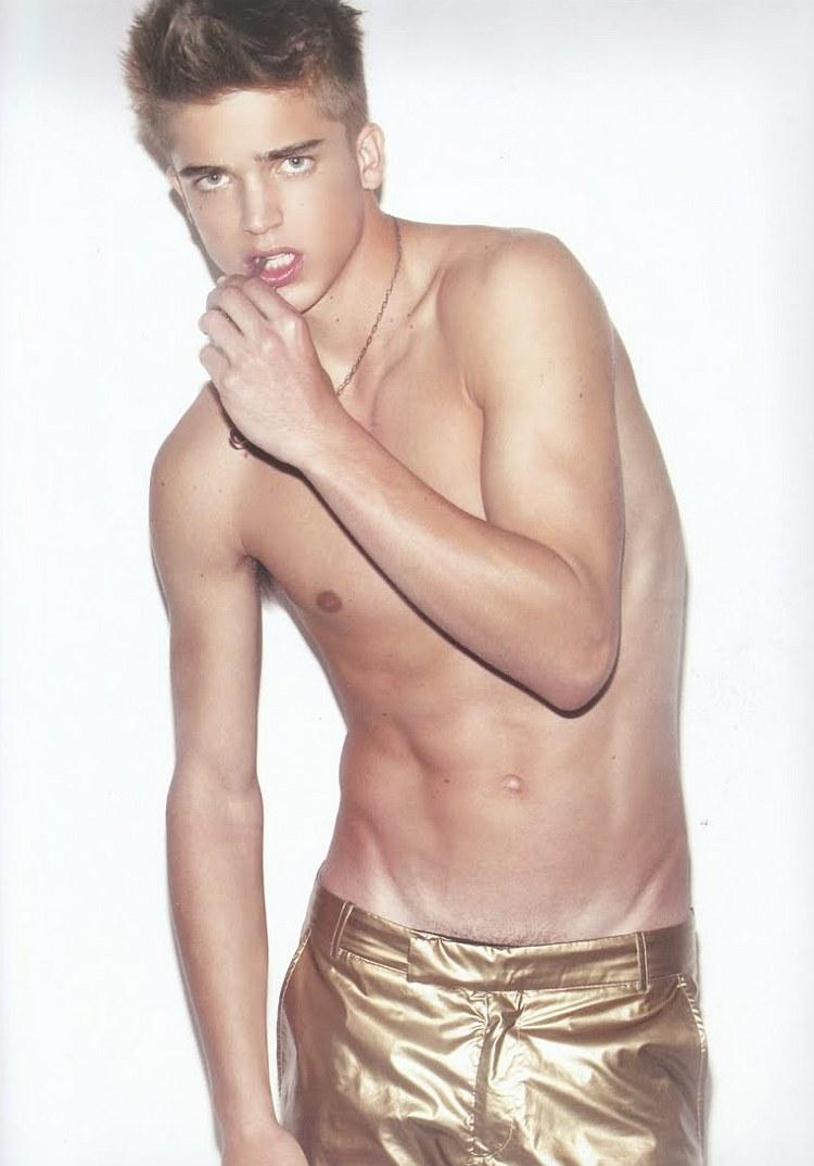 River Viiperi in Coitus magazine