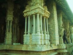 592. Hampi (10): Musical Pillar (profmpc) Tags: temple stonecarving hampi vijayangara musicalpillar krishnadevarayar