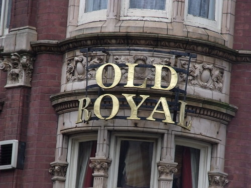 Old Royal (formerly the Red Lion) on Church Street - sign