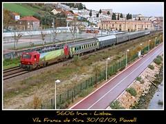 La foto numero 1000 es para... (Powell 333) Tags: portugal train canon tren trenes ic siemens railway trains 5600 powell material cp railways estrella sud comboios comboio ferrocarril renfe 9600 siemen adif ffcc 5606 convencional intercidades surex sorefame