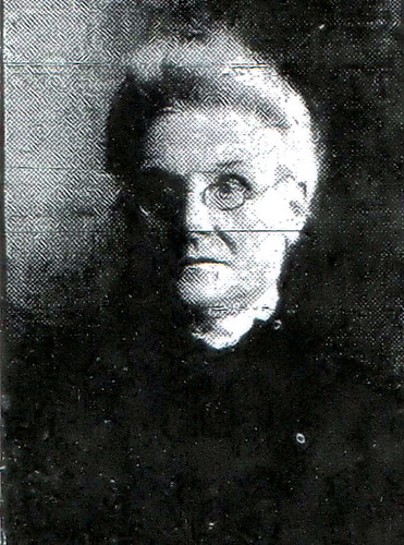 Joplin's first police matron, Ellen Ayers