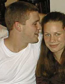 Wesley whispering (Summer 2000)