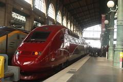 Thalys PBKA at Gare du Nord (Matthew Black) Tags: paris france garedunord thalyspbka flickr:group=tgvfotos flickr:group=thalys