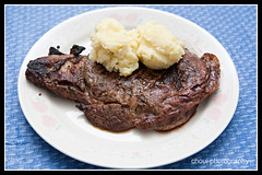 Steak Dinner (choui168) Tags: food mashedpotatoes steak 5d cebusugbo igroup 2470mmf28lusm 580exii cebuphotoorg
