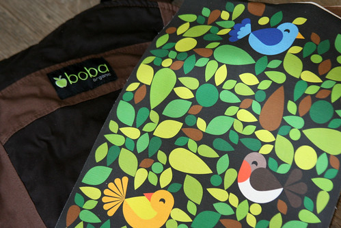 Boba organic baby carrier