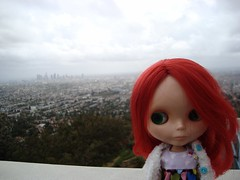 Murray with LA in the background 9/52