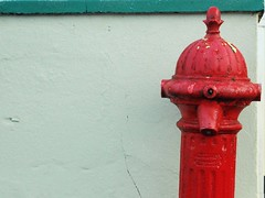 Hydrant #2 (Yellabelly*) Tags: ireland red irish hydrant streetfurniture countyclare corofin