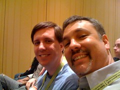 I've successfully stalked @Louisgray at the #8bastards talk at #SXSW