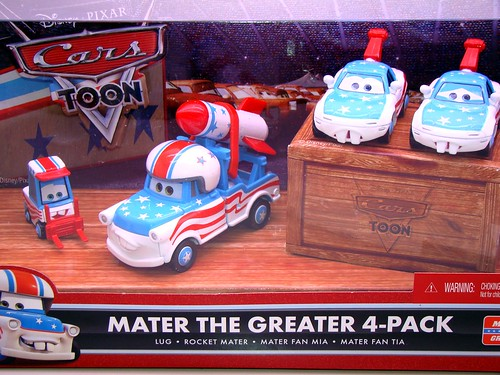 Disney CARS Mater The Greater Box Sets C & D