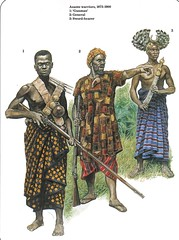 African Warriors (cool-art) Tags: africa black history infantry soldier african rifles empire warriors wars serra ashanti leone