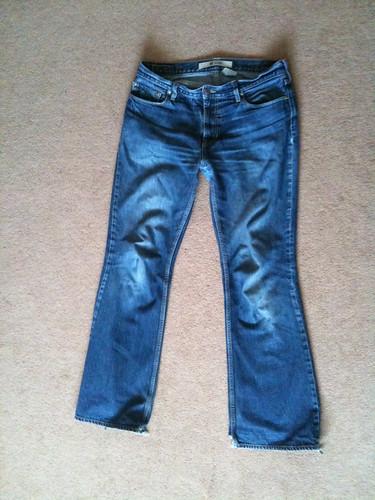 gap jeans worn denim flares project365