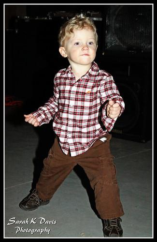 Nolan dancing