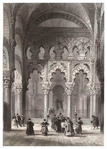 015-Gran Mezquita de Cordoba-Voyage pittoresque en Espagne et en Portugal 1852- Emile Bégin