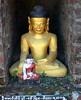 Sakya Man Aung Paya, Mrauk-U, Myanmar (ArnisD) Tags: monument statue temple pagoda image buddha burma stupa buddhist ruin buddhism idol myanmar paya mrauku arakan rakhiang