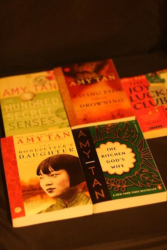Amy Tan book fan photo
