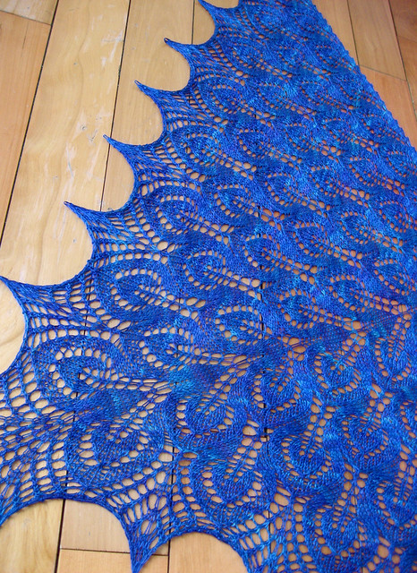 Lilia's Nightsongs Shawl