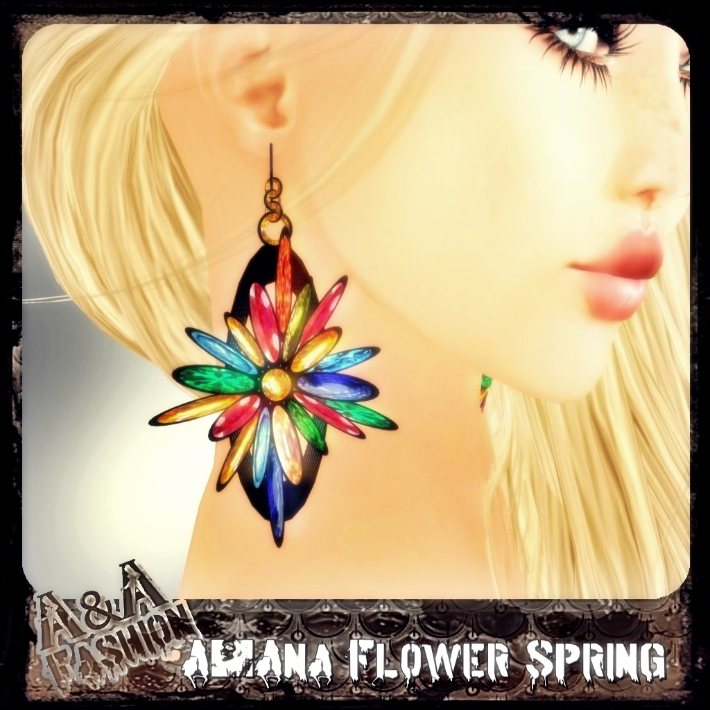 A&Ana Flower Spring Earrings