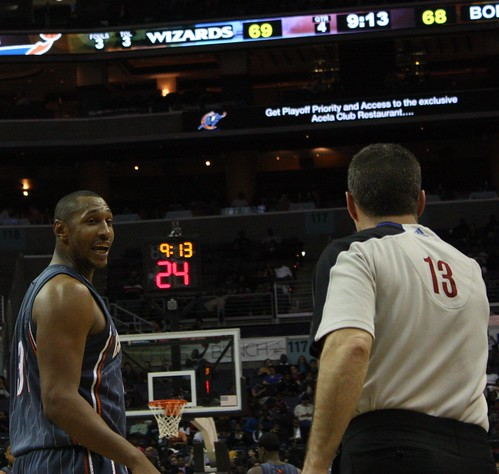 Borris Diaw, Charlotte Bobcats, NBA, Washington Wizards, Referee