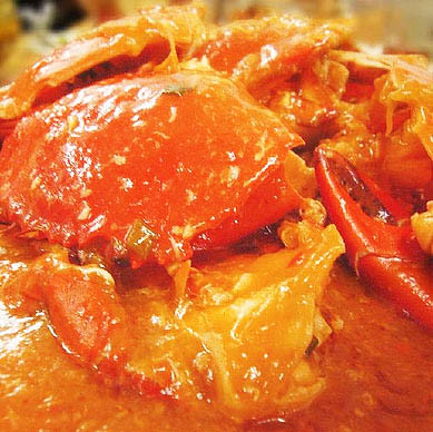 Singapore Style Crab