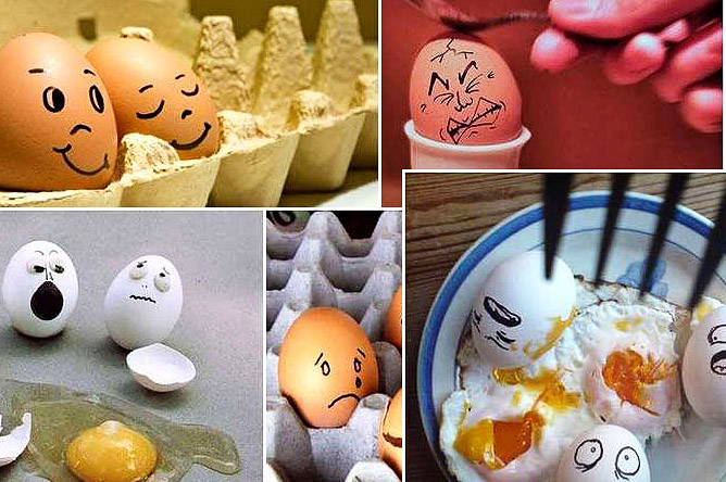 Ät många ägg