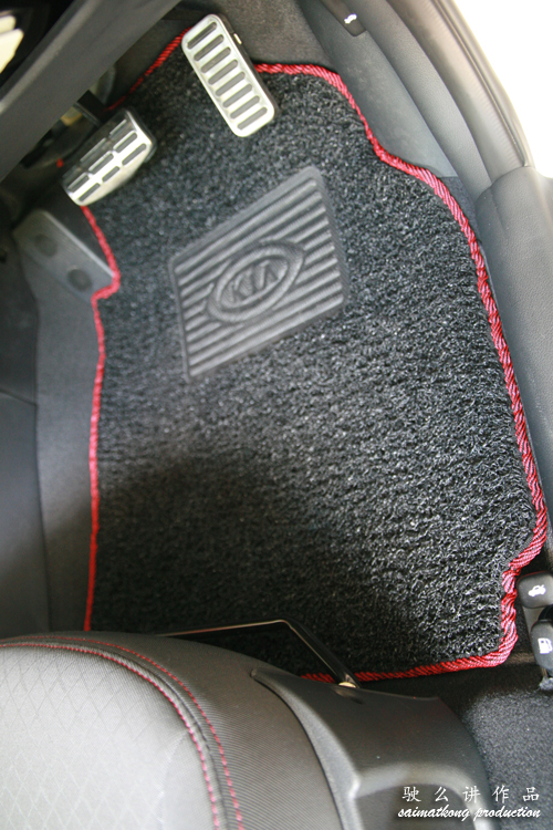 Driver Black Car Mat