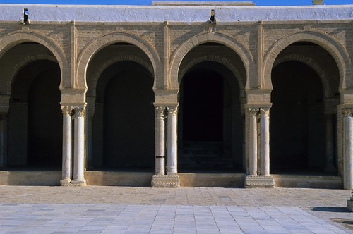 Mosque Kairouan Kairouan Great Mosque