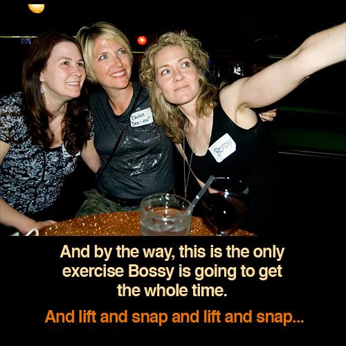 iambossy-taking photos