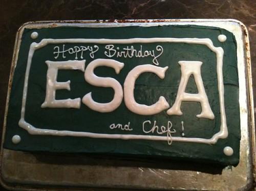 esca cake