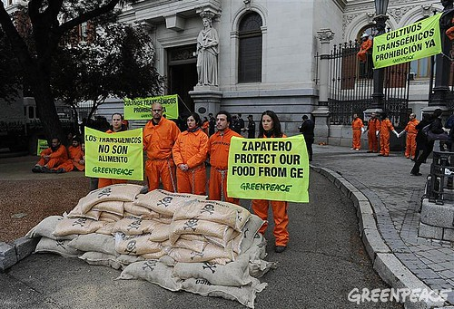 GE-Free Future Tour por Greenpeace International.