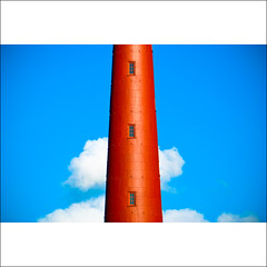 It's a lighthouse (Allard One) Tags: red lighthouse holland netherlands architecture happy nikon north cartoon nederland bluesky explore maritime pixar portfolio fp frontpage rood beacon vuurtoren vissershaven bold architectuur noordholland 2010 kleurrijk northseacanal 1876 vrolijk ijmuiden velsen noordzeekanaal boldness baken explorefrontpage threeisthemagicnumber d80 3stories nikcolorefexpro daydreambeliever nikond80 nikkor70300mmvr windows3 kustplaats allardone allard1 tussenstuk hebelieveshecanfly ferrytonewcastle simonvissering 3verdiepingen middlepiece wherebadpeoplego minimalhuh minimalisthenewthing itsnotarocket allardschagercom