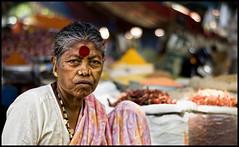 R.E.D (Prabhu B Doss) Tags: portrait india nikon women market candid streetphotography chilli d80 bengalooru madiwala sunshinemarket prabhub prabhubdoss zerommphotography 0mmphotography