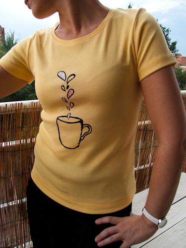 Camiseta Taza de café