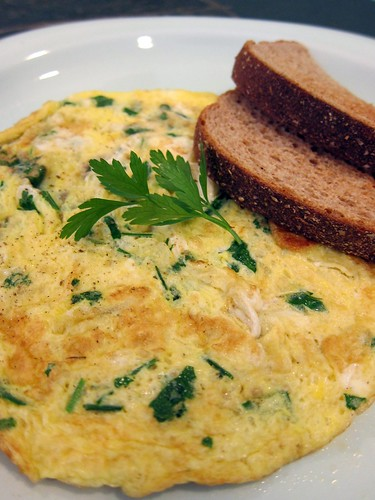 Herb Omelettes